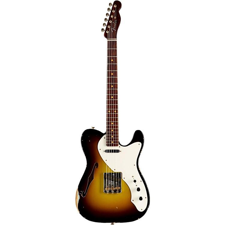Fender Custom ShopLimited Edtion 50s Thinline Relic Telecaster Roswood NeckVintage Blonde