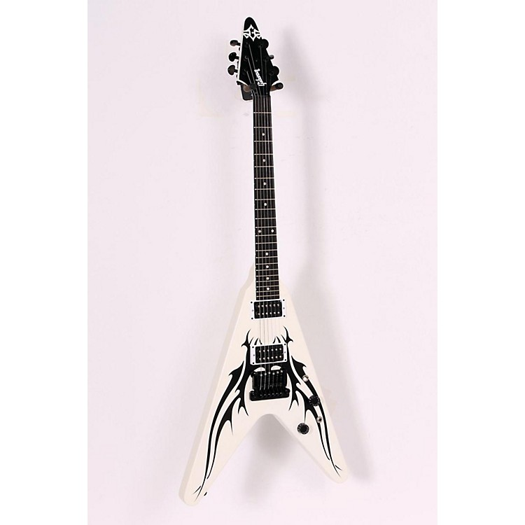 Gibson Limited Run Tribal V Electric Guitar Satin White 886830982361