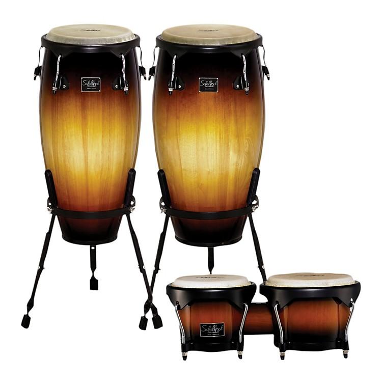 SchallochLinea 100 Series 2-Piece Tumba Set with Bongos