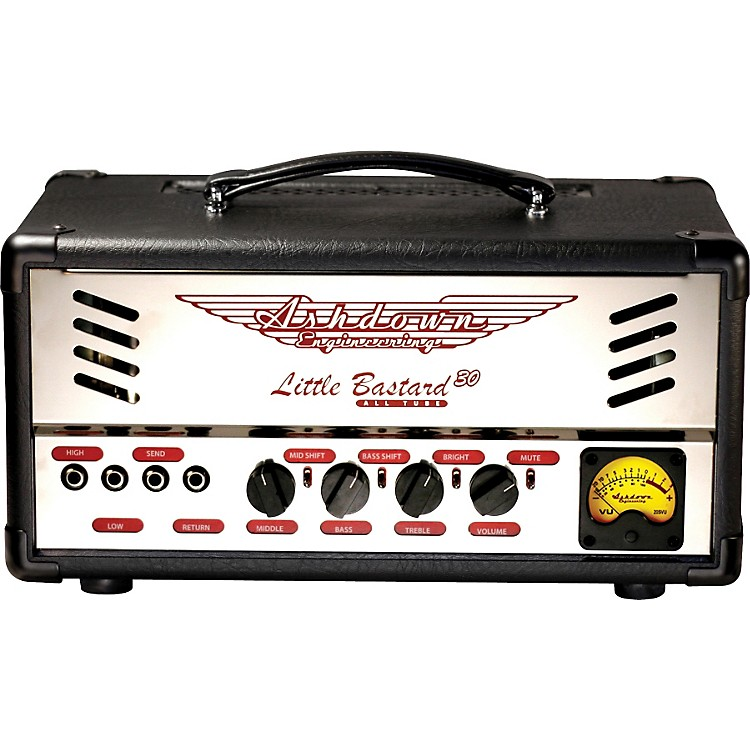 Ashdown Little Bastard 30 30W Tube Bass Mini Amp Head Black/Chrome