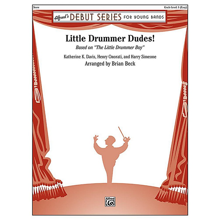 Alfred Little Drummer Dudes! Concert Band Grade 1 Set