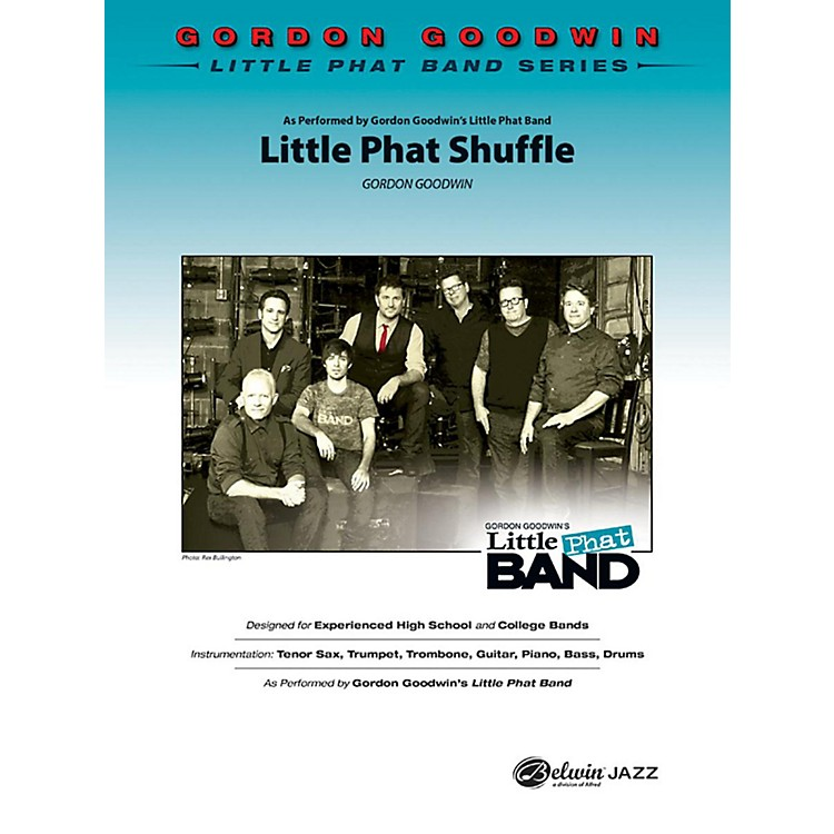AlfredLittle Phat Shuffle Jazz Band Grade 4.5 Set