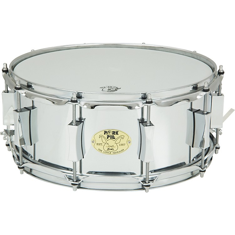Pork Pie Little Squealer Steel Snare Drum 14 x 6 in.