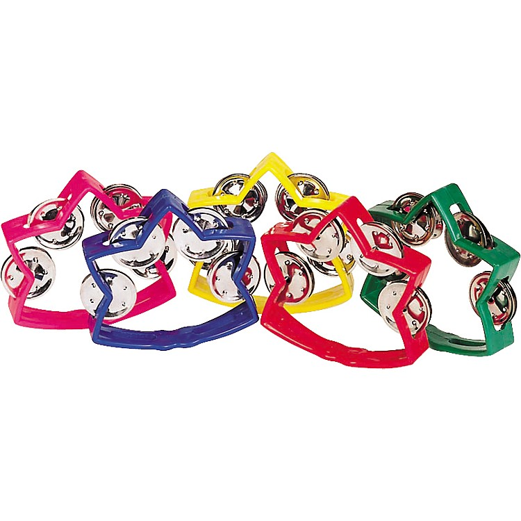 Rhythm Band Littlestar Tambourine White