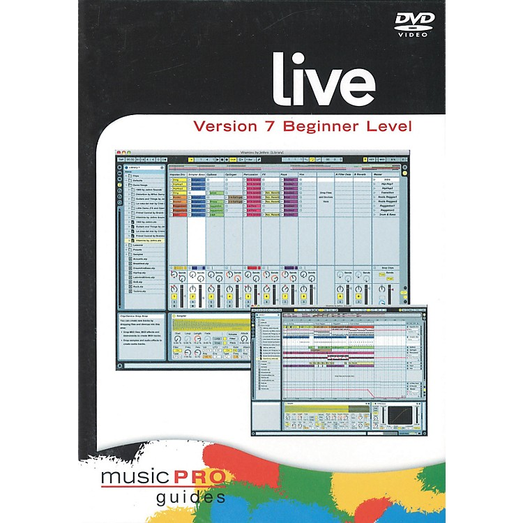 Hal Leonard Live 7 Beginner Level (DVD)