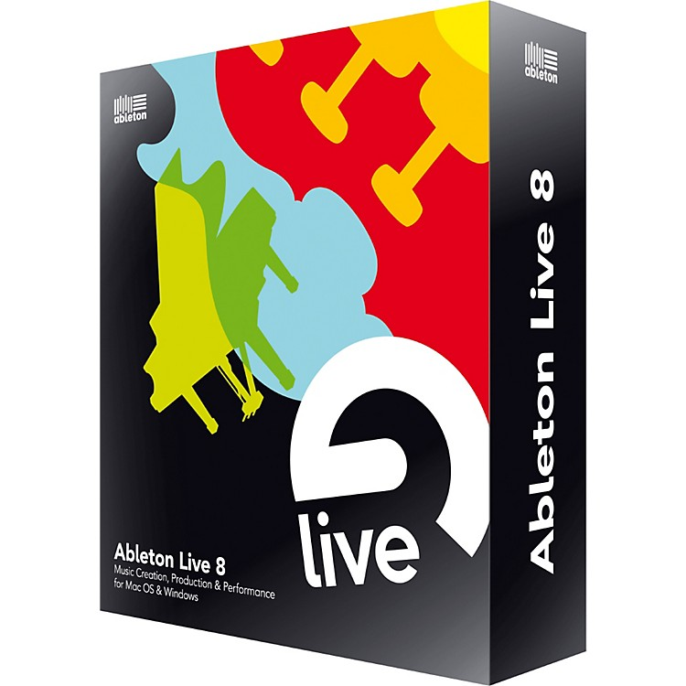 AbletonLive 8 Upgrade from Live 1-6