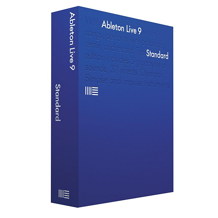 Ableton Live 9 Standard Educational Version Software Download