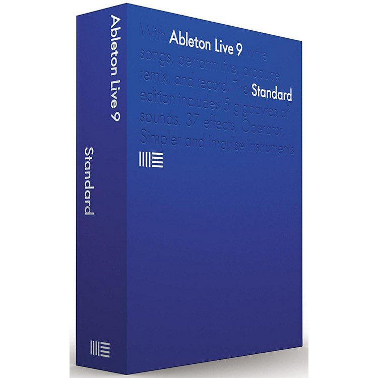 Ableton Live 9 Standard Upgrade from Live Intro Software Download