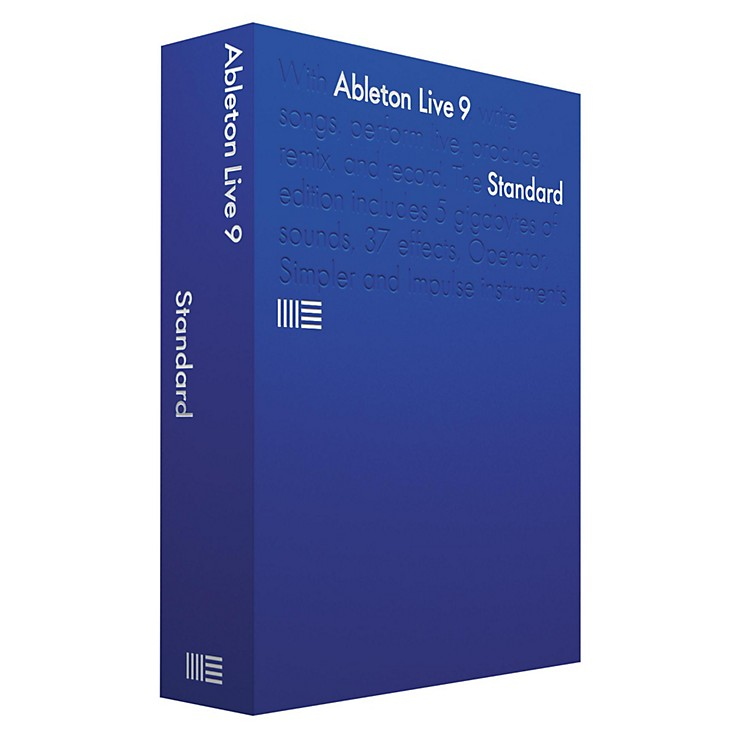 Ableton Live 9 Standard Upgrade from Live Standard 1-8 Software Download