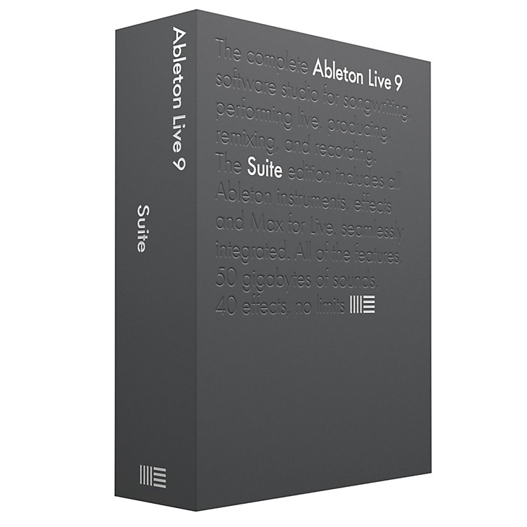 Ableton Live 9 Suite Software Download
