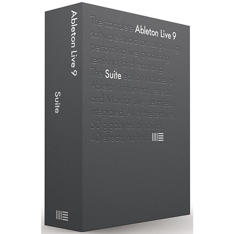 AbletonLive 9 Suite Upgrade from Live Lite Software Download