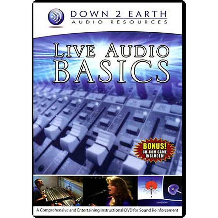 Down 2 EarthLive Audio Basics DVD