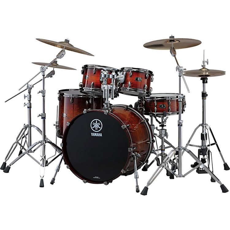 YamahaLive Custom 4-Piece Shell Pack with 22