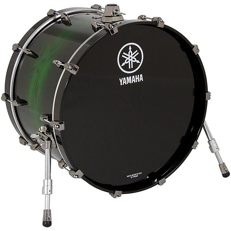 YamahaLive Custom Bass Drum18 x 14 in.Emerald Shadow Sunburst