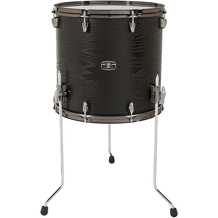 Yamaha Live Custom Oak Floor Tom 18 x 16 in. Black Wood
