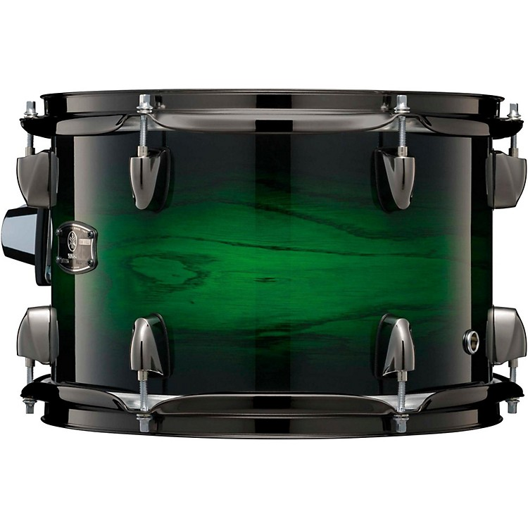 Yamaha Live Custom Oak Tom 13 x 9 in. Emerald Shadow Sunburst