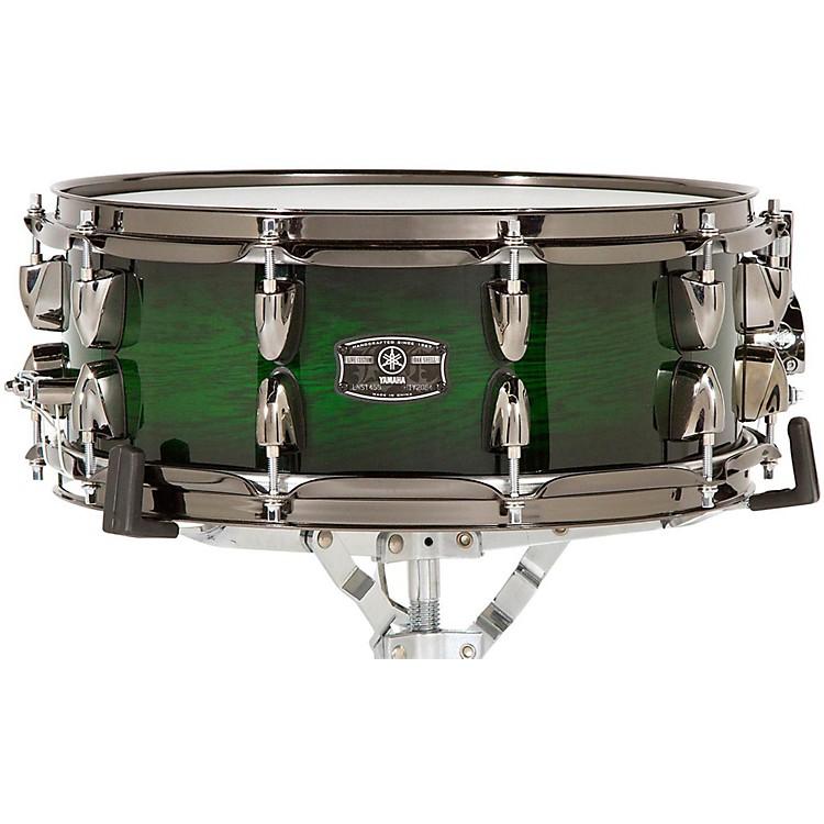 YamahaLive Custom Snare Drum14 x 5.5 in.Emerald Shadow Sunburst