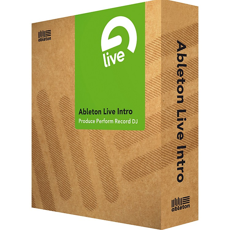 Ableton Live Intro Software