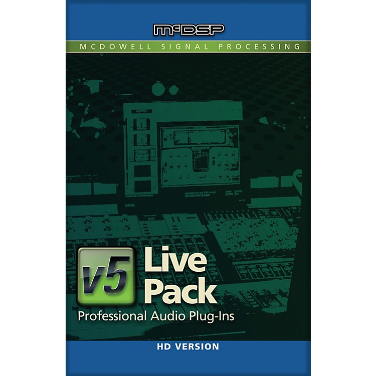 McDSP Live Pack HD v5 Software Download Software Download