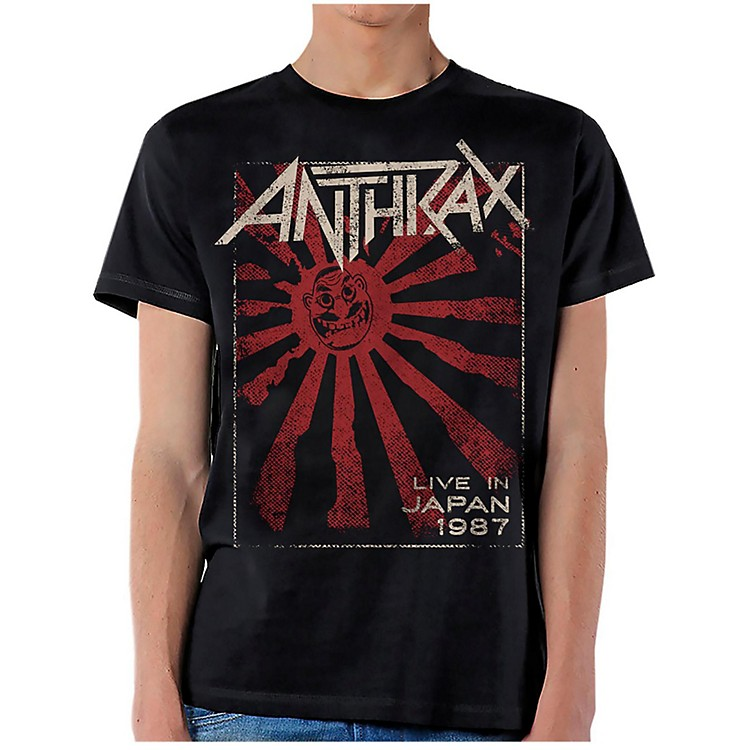 Anthrax Live in Japan T-Shirt Large