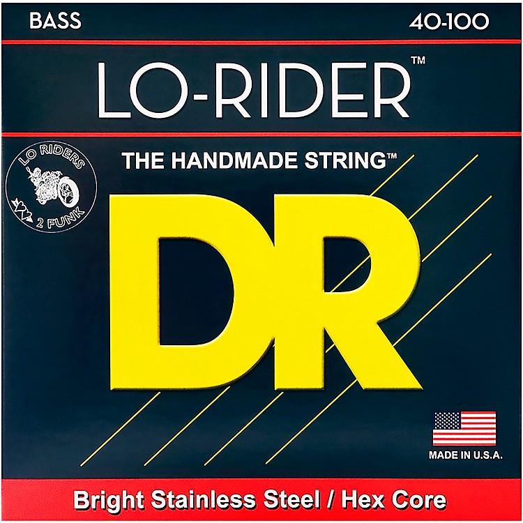 DR StringsLo Rider LH-40 Lite Stainless Steel 4 String Bass Strings