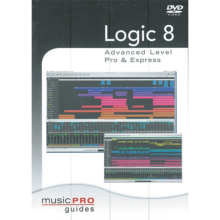 Hal Leonard Logic 8 Advanced Level Pro & Express - Music Pro Series (DVD)