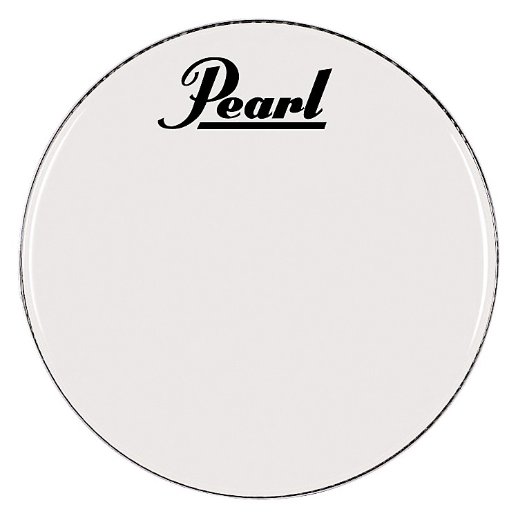 Pearl Logo Marching Bass Drum Heads 28 in.