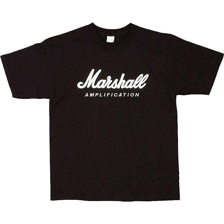 MarshallLogo T-ShirtBlackLarge