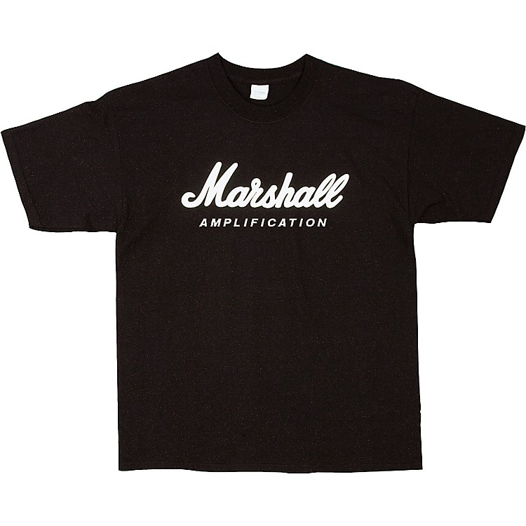 Marshall Logo T-Shirt Black Medium