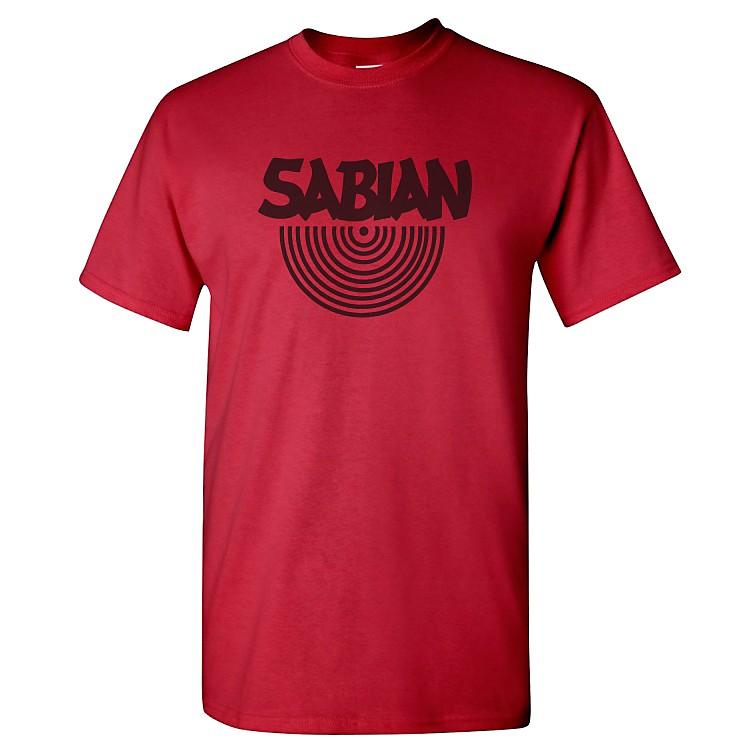 SabianLogo T-ShirtCardinal RedLarge