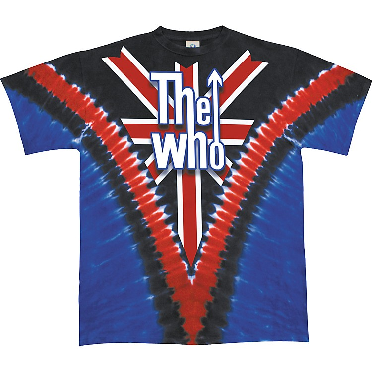 The Who Long Live Rock T-Shirt Union Jack Extra Extra Large
