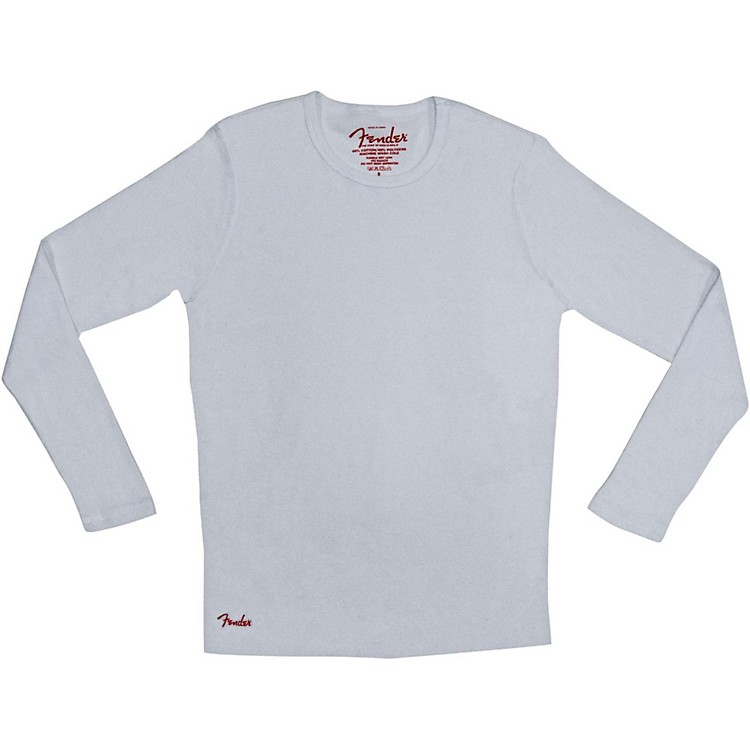 Fender Long Sleeve Thermal White XX-Large