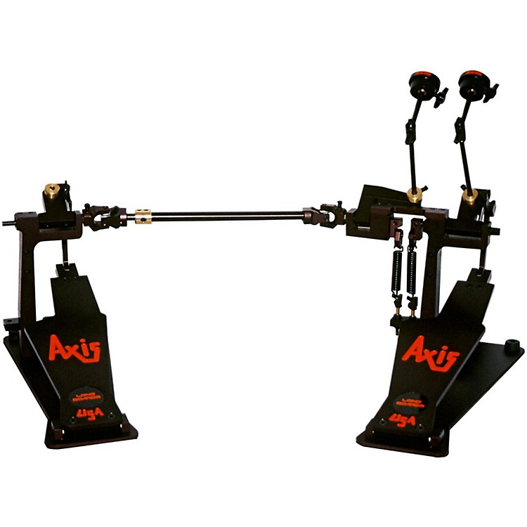 Axis Longboard A Double Bass Drum Pedal Classic Black