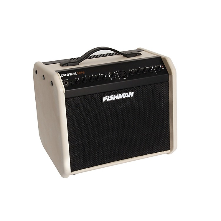 Fishman Loudbox Custom Mini 60W 1x6.5 Acoustic Combo Amp Cream