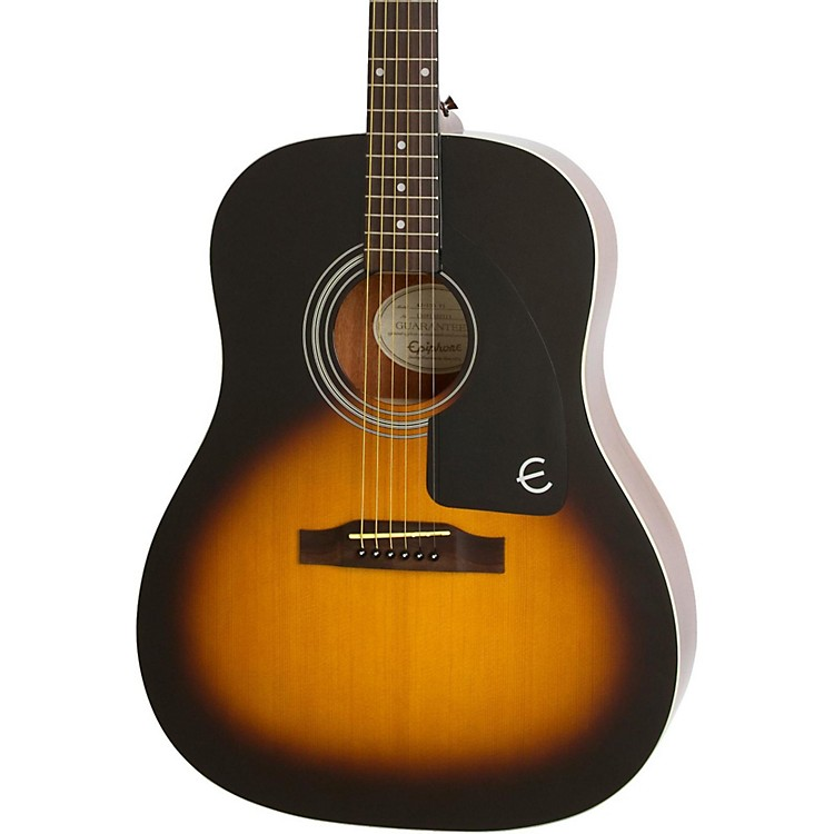 Epiphone Ltd. Ed. AJ-100 Acoustic Guitar Vintage Sunburst