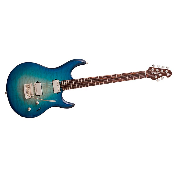 Ernie Ball Music ManLuke III HH Quilt Maple Top Electric Guitar