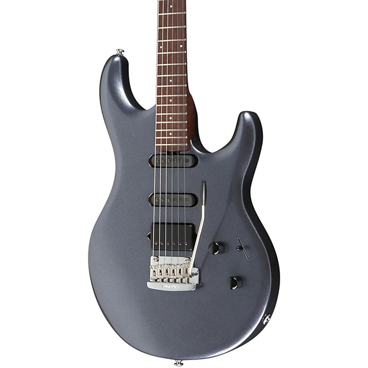 Ernie Ball Music Man Luke Signature LIII HSS Electric Guitar with All Rosewood Neck Bodhi Blue