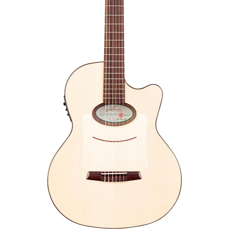 Kremona Lulo Reinhardt Kiano Nylon-String Acoustic-Electric Guitar Natural