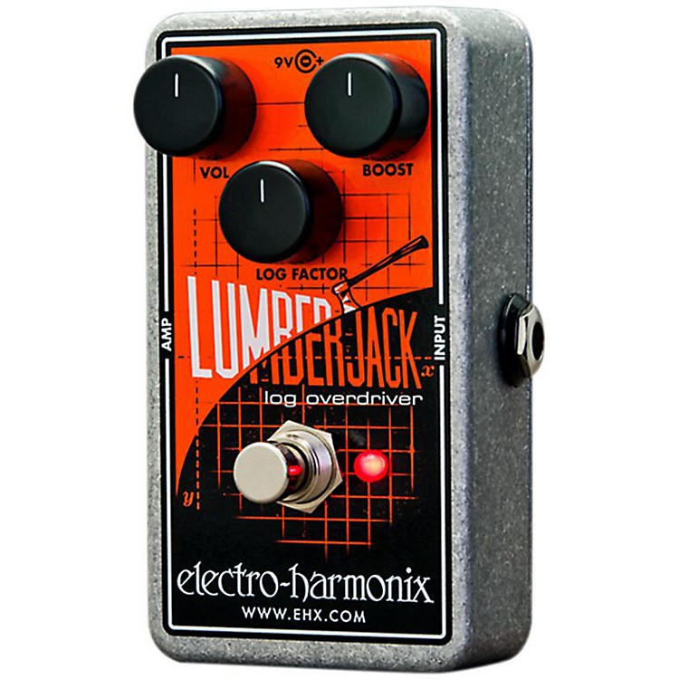 Electro-HarmonixLumberjack Log Overdriver Guitar Effects Pedal