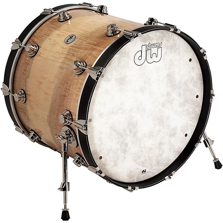 DWLux Leather Bass Drum Hoop22 InchBlack