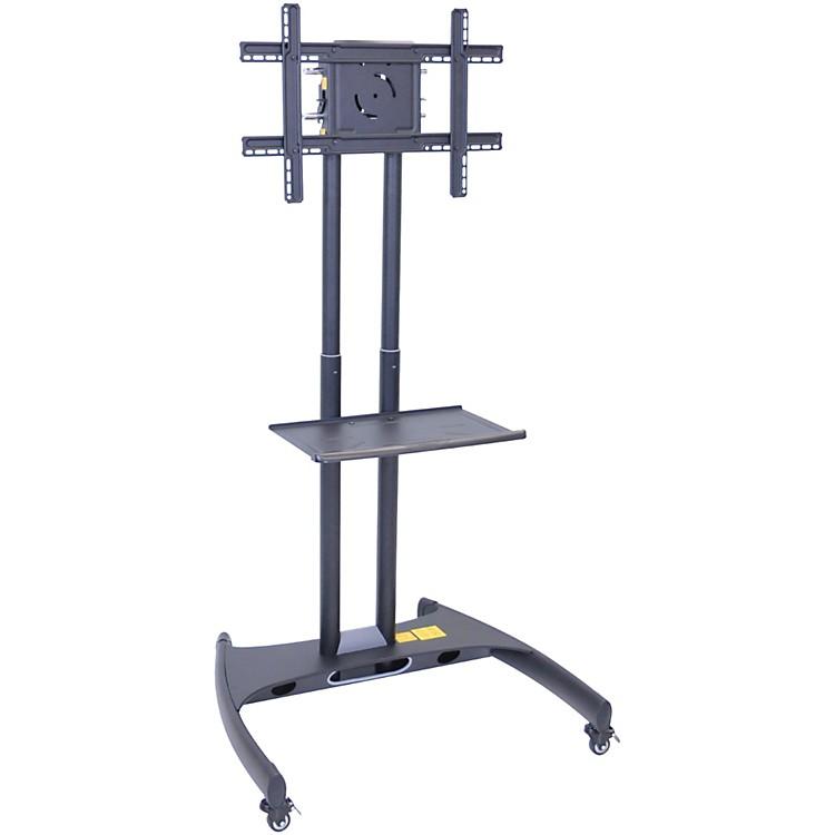H. WilsonLuxor Adjustable Flat Panel Cart with Shelf