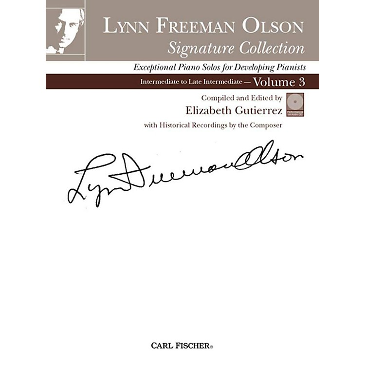 Carl FischerLynn Freeman Olson Collection for Piano (Book + CD)Volume 3