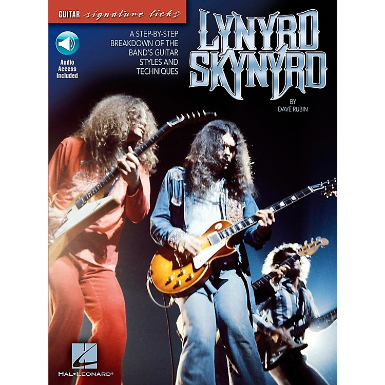 Hal LeonardLynyrd Skynyrd - A Step-By-Step Breakdown of the Band's Guitar Styles and Technique Book with CD