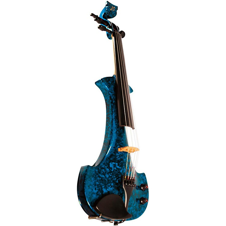 Bridge Lyra Series 5-String Electric Violin Blue Marble
