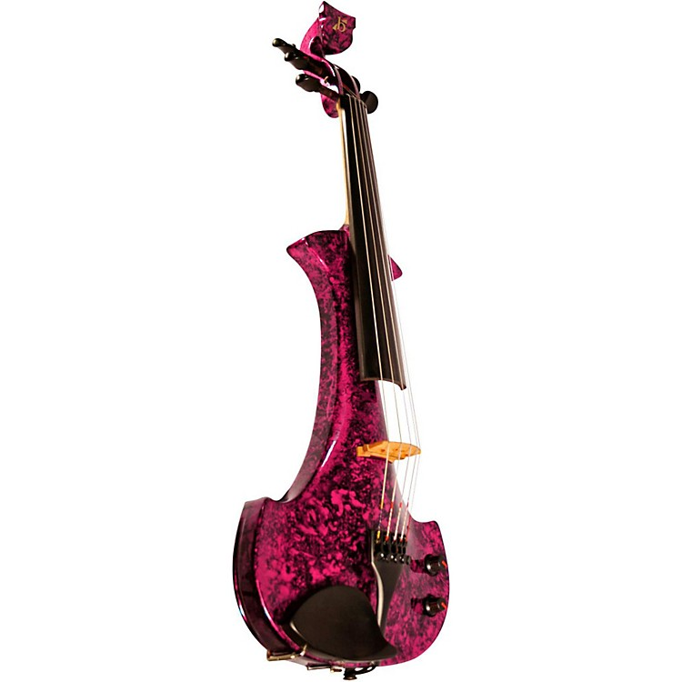 Bridge Lyra Series 5-String Electric Violin Purple Marble