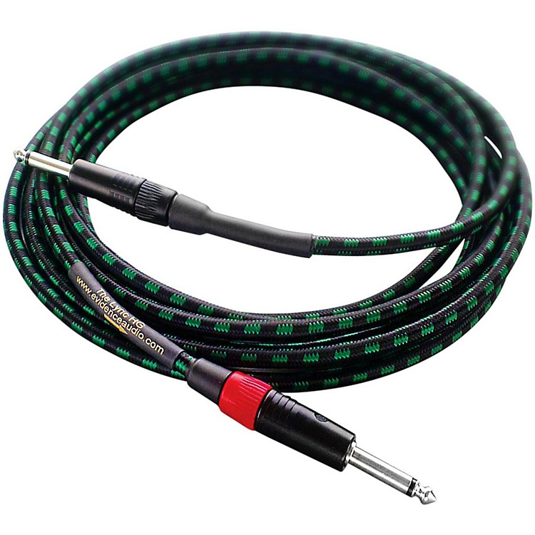 Evidence AudioLyric HG Instrument Cable10 ft.Straight to Straight 1/4 IN