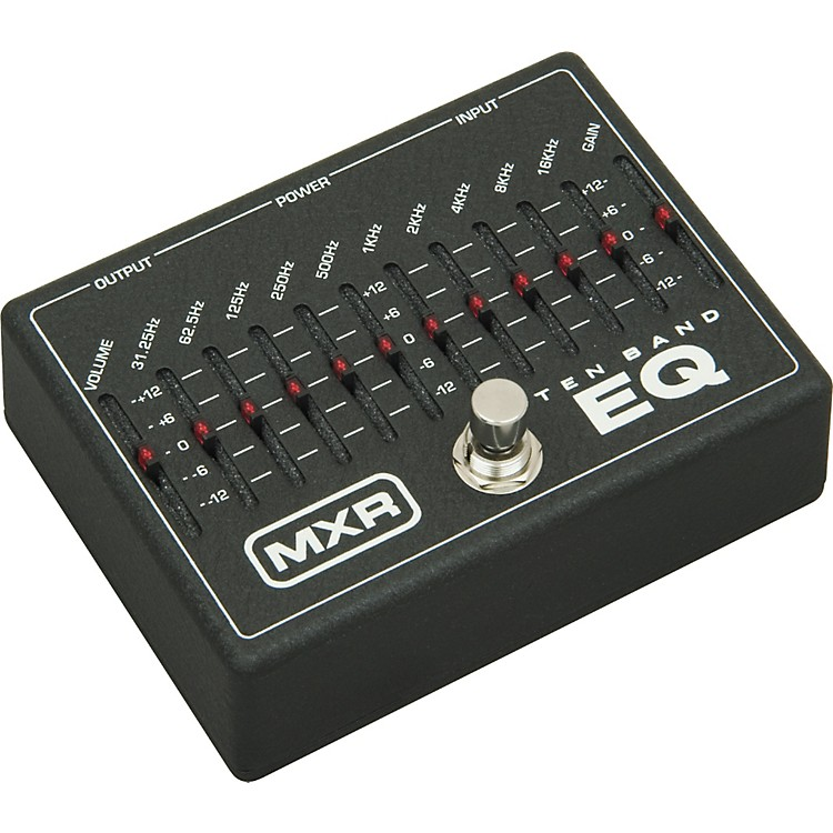 MXRM-108 Ten Band Graphic EQ