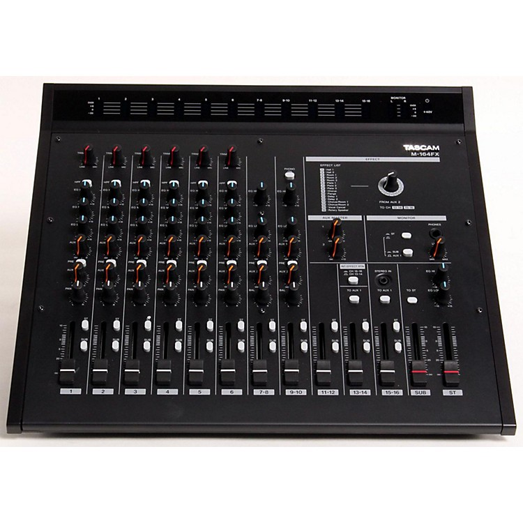 TASCAM M-164FX 16-Input Mixer with Effects  889406762862