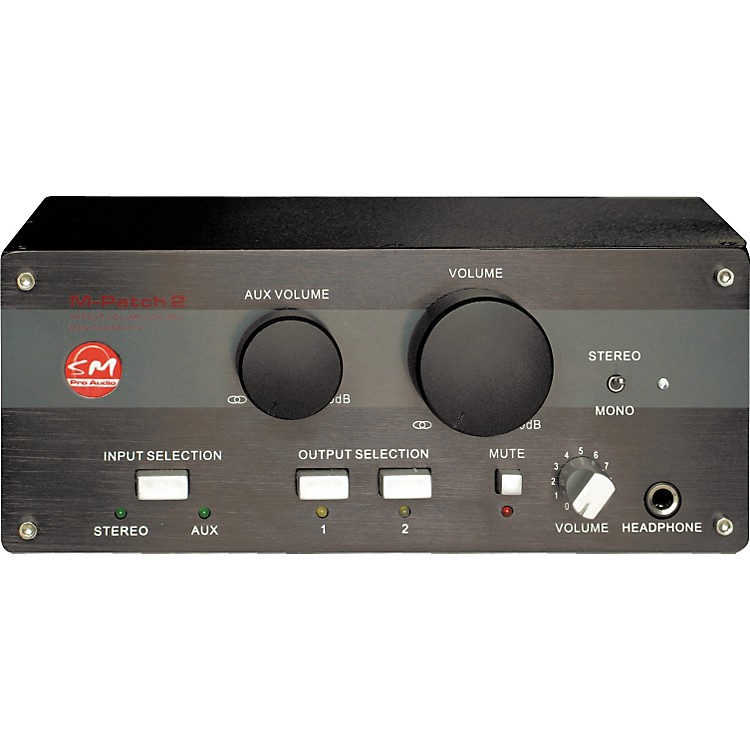 SM Pro AudioM-Patch 2 Passive Volume Control/Switch Box