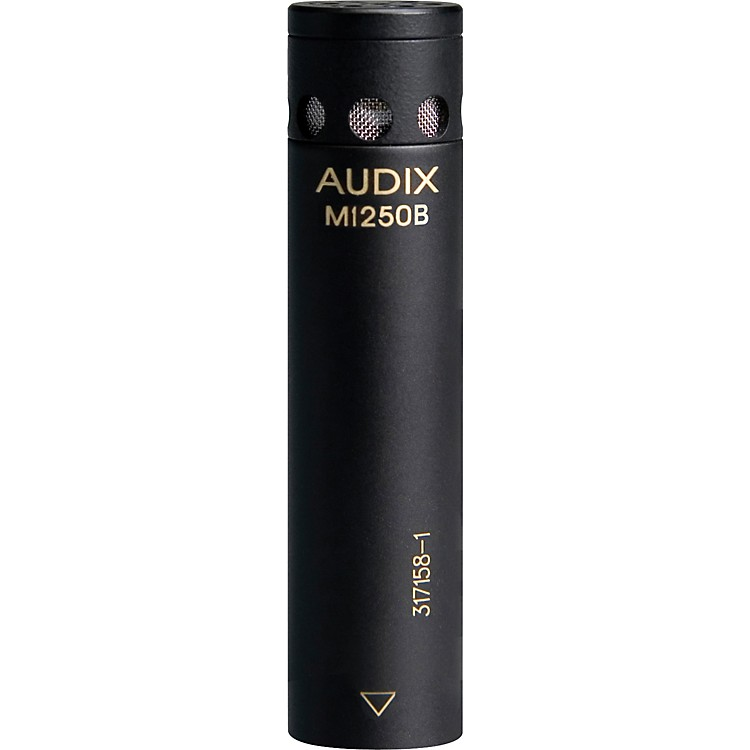 Audix M1250B Miniaturized Condenser Microphone Cardioid White